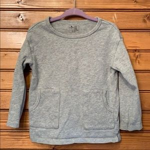 Gap Girls gray top size for